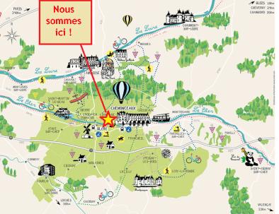 Environs du château de Chenonceau